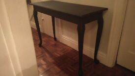 Sidetable large solid wood black elegant french style £20