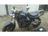 suzuki bandit 1200cc, great runner, streetfighter, all works as it should.