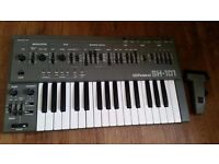 Roland SH101 with Mod Grip. Immaculate