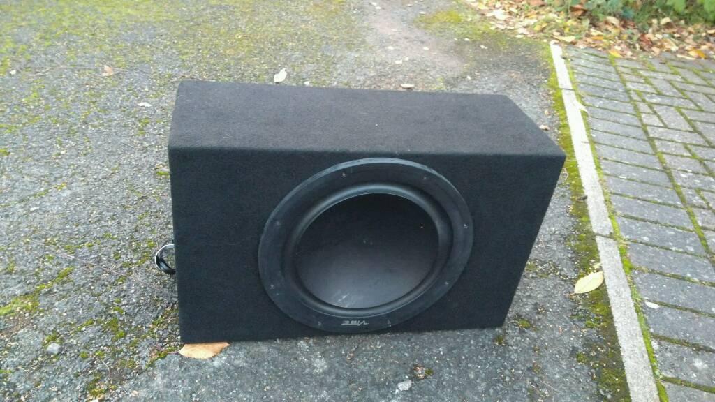 Subwoofer Vibe + JBL amplifier