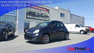 2012 Fiat 500 MAGS 16'' TOIT OUVRANT BLUETOOTH