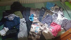 Large bundle of boys clothes age 8-9