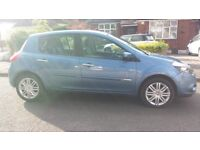 Renault Clio Automatic 1.6 Intale 60 Reg TOP MODEL History TomTom Leather size of corsa fiesta polo