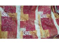 Fantastic Bargain! A pair of custom made curtains in excellent condition