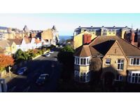 Large 2 bed furnished flat on South Cliff