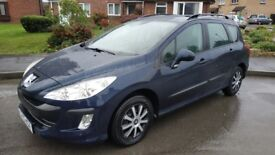 2010 Peugeot 308 Estate 1.6 TDi --- 94k!!, 73mpg, 1 owner, SERVICE + T.BELT TODAY! ---