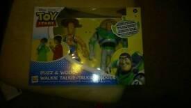 Buzz and woody walkie talkie