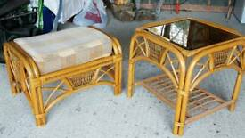 Conservatory stool and table