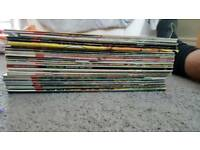 Comics 2000 ad judge dredd x35