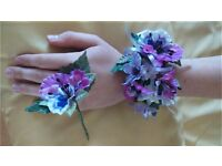 Prom wrist corsages