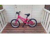 ridgeback melody 16 inch kids bike GOOD CONDITION