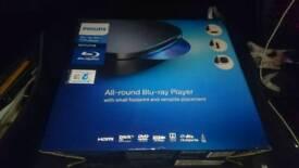 Brand new Philips Blu-ray player