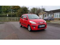 Hyundai i10 1.2 style LOW LOW MILES 27400 ONLY