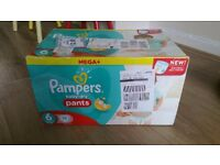 Pampers Baby Dry Pants Size 6 Mega + pack