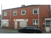 SHOP TO LET -FULL UPSTAIRS -Corner Of Whalley Range Blackburn -Renovation needed -6 MONTH FREE RENT
