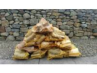 Firewood seasoned logs.