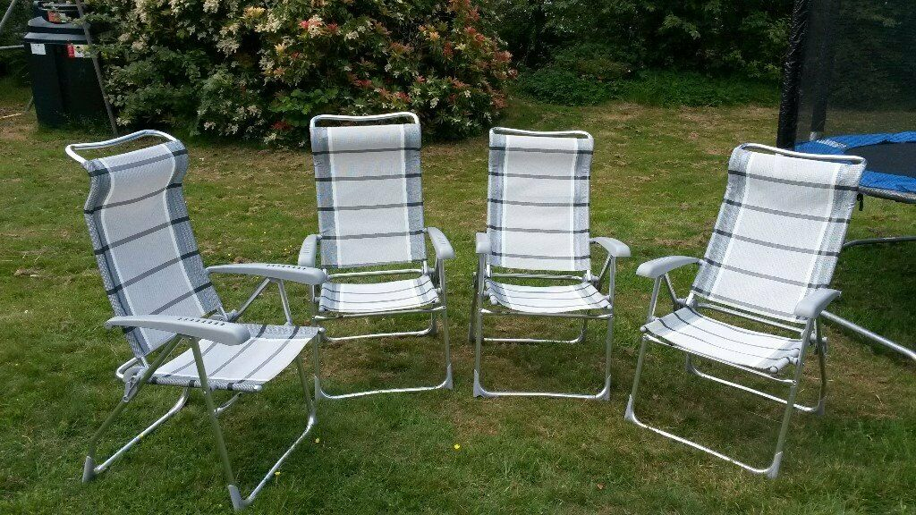 Astonishing 2 Dukdalf Aspen Lightweight Reclining Caravan Camping Garden Chairs In Axminster Devon Gumtree Gmtry Best Dining Table And Chair Ideas Images Gmtryco