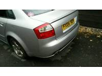 Audi a4 b6 boot and spoiler