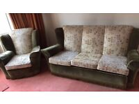 Sofa and couch chair set