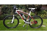 Galileo Electric Mountain Bike E-Bike ; by Powered Bicycles. Cost £1399.00 13 months ago!