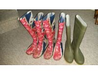 Wellies for Sale in sizes 38