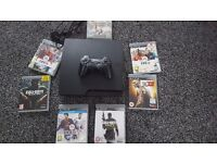 PS3 SLIM 320GB WITH GAMES