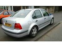 VW bora 1.6 mot and tax. Similar to Golf