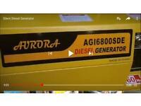 auavrora generator diesel 5kva AG16800SDE