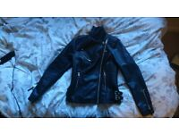 New faux leather jaket size 10 for women, bought at John Lewis