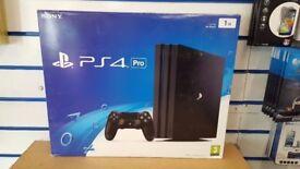 SONY PS4 PRO 1TB BRAND NEW SEALED WITH WARRANTY & RECEIPT