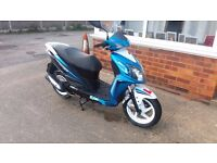 Sym jet 4 125cc scooter moped vgc low mileage motorbike spares repair
