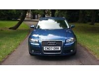 2007 AUDI A3 1.6 SE 5 DOOR FSH £3595 *golf focus astra bmw 3 mazda3 c4 megane civic leon size car*
