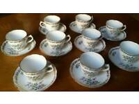 VINTAGE ROYAL GRAFTON FINE BONE CHINA TEA SET 18 PC