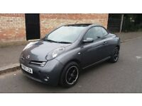 NISSAN MICRA (SPORT) CONVERTIBLE - 07-REG - 2007 (NEW SHAPE) 2 DOOR - 1.6 LITRE - £1595