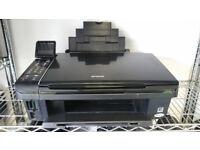 Epson Stylus SX515W A4 Colour Multifunction Inkjet Printer + 1 Full Set Cartridges