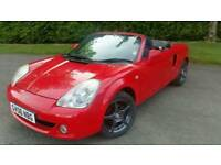 2006  Toyota Mr2 Roadster convertible. 2dr.  October  MOT.  Amazing car.