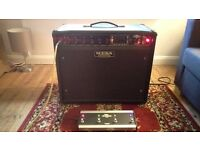 Mesa Boogie Express 5:50+ Express Plus valve 1x12 guitar amp w/ Original Footswitch and Slip Cover