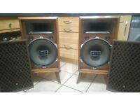 Vintage Pioneer CS-901 Speakers Full Working Order £500 OVNO