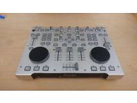 Hercules RMX Dj Mixer Professional USB Computer Laptop Portable Controller Music Mixer