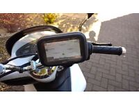 Motorbike mobile phone or sat nav holder