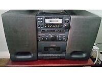 Alba micro CD, Radio, Cassette Player