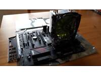 Intel I5 6600k with MSI Z170A Gaming M3 motherboard and Coolermaster 212 evo cooler