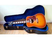 Gibson Hummingbird + LR Baggs M1A pickup!