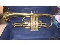 cornet and carry case