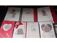 180 ME TO YOU VALENTINES GREETING CARDS + 150 CHRISTMAS ITEMS MOSTLY FROZEN * SEE PICS*