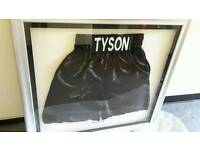 Signed mike tyson