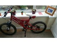 Kids Muddyfox bike