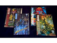 Judge Dredd Mega-Special Issues 1-4