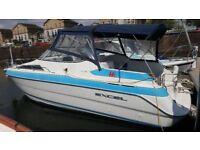 cabin cruiser for sale or swop for static residential caravan in vale of glamorgan