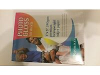 brand new Ryman Photo Inkjet Paper 152x102mm Gloss 240gsm 50 Sheets